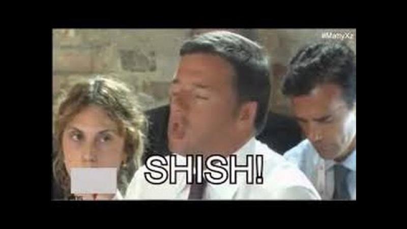 Matteo renzi e l'inglese shish