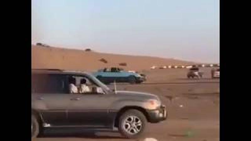 Yanlayarak gelen arabanın feci kazası
