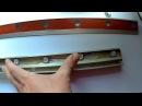Самодельная контрольная лампа для проявления всех огрехов на зашпаклёванной поверхности