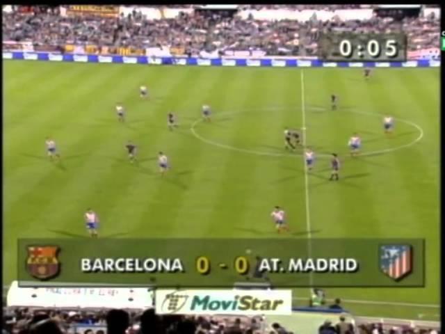 Season 1995/1996. FC Barcelona - Atletico de Madrid - 0:1 AET