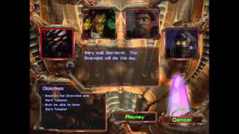 Starcraft - brood war memories - briefings n cinematics - Zerg part 2