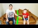 Матвей РАЗДЕЛИЛ квартиру Что ПРОИЗОШЛО Папа в ШОКЕ Видео для детей Video For Kids Children