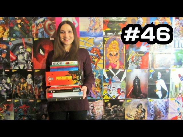 Распаковка комиксов, книг, фигурок, манги 46 Новинки и олдскул. Обзор