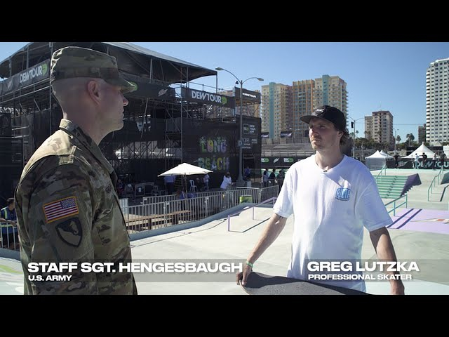 Darkstar Pro Greg Lutzka and Staff Sergeant Hengesbaugh Talk Performance