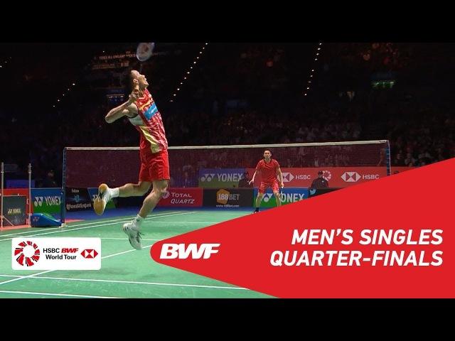 MS | LIN Dan (CHN) [6] vs LEE Chong Wei (MAS) [2] | BWF 2018