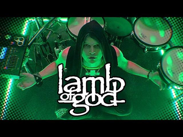 Lamb of God - The Faded Line - Whoa! Whoa! drum cover