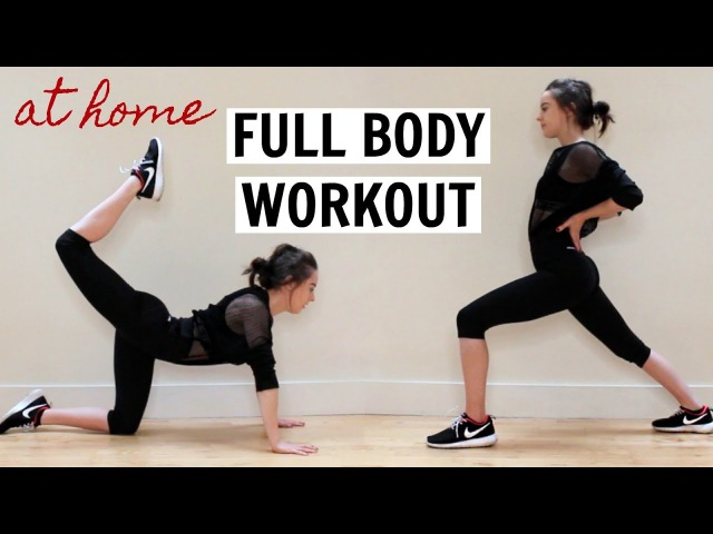 FULL BODY WORKOUT | AT HOME FAT BURNER (NO EQUIPMENT)