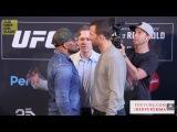 UFC 221:Пресс-конференция Luke Rockhold vs Yoel Romero/Стердаун(Русская озвучка)