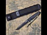 Видео обзор тактического ножа Aggressor AUS-8 Black Titanium от