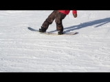 Snowboard Addiction| Buttering (Goofy) - How To Nose - Tail Spin Goofy