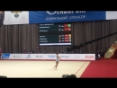 Екатерина Селезнева - обруч многоборье Гран-при Москва 2018