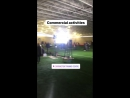 "Herrera insta story indicating ""commercial activities"" happening at Carrington"