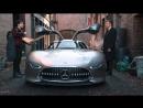 Mercedes AMG Vision Gran Turismo As Batman Bruce Wayne New Car In Justice League