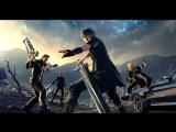 Final Fantasy XV - #1.Суровые японские мужики укладывают челку гелем