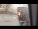 По Орлу проехался полыхающий автобус