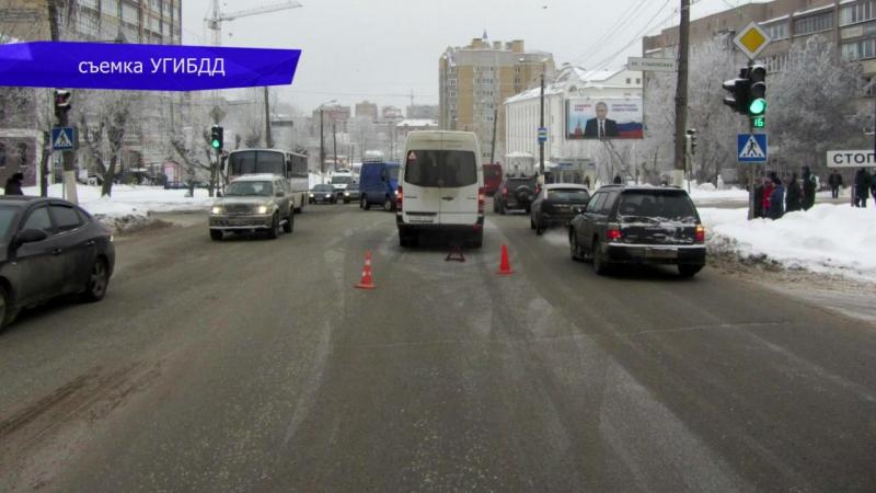 Обзор аварий. Пострадал 15-летний подросток на улице Ленина. Место происшествия 17.01.2018