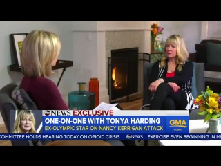Tonya harding threatens to end interview with piers morgan