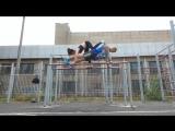Maksim Sidorov and Ira Baran. Krivoy Rog, Ukraine. Pole Dance