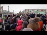 Горит Масленица на Монгоре Сызрань 2018