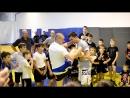 4. Роман Насонов и Артем Голик. Семинар по тайскому боксу
