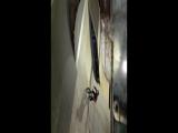 Артём Первый раз сделал ванети на большом фане