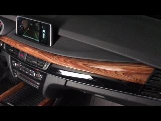 BMW X5 f15 Глянцевое дерево для вставок салона