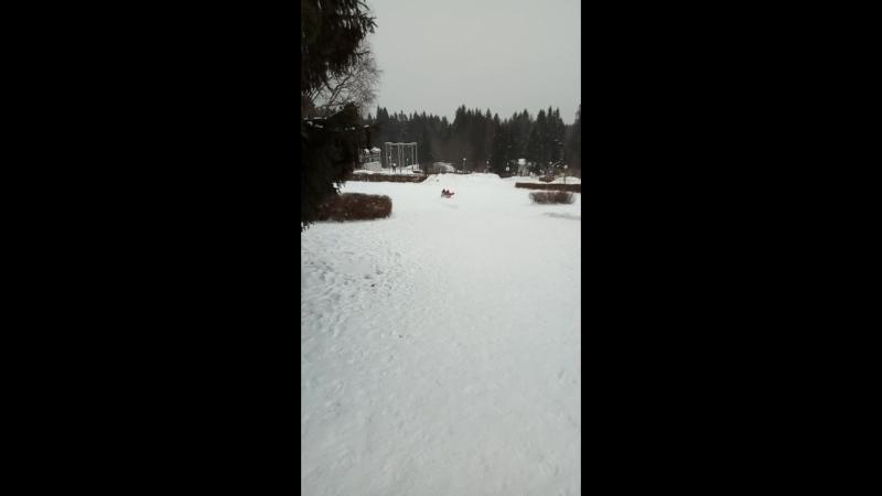Гелиопарк Зимой