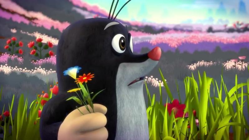 Мультфильм на Чешском языке. Krtek a panda epizoda 23 - Párty černobílýcch zvířátek
