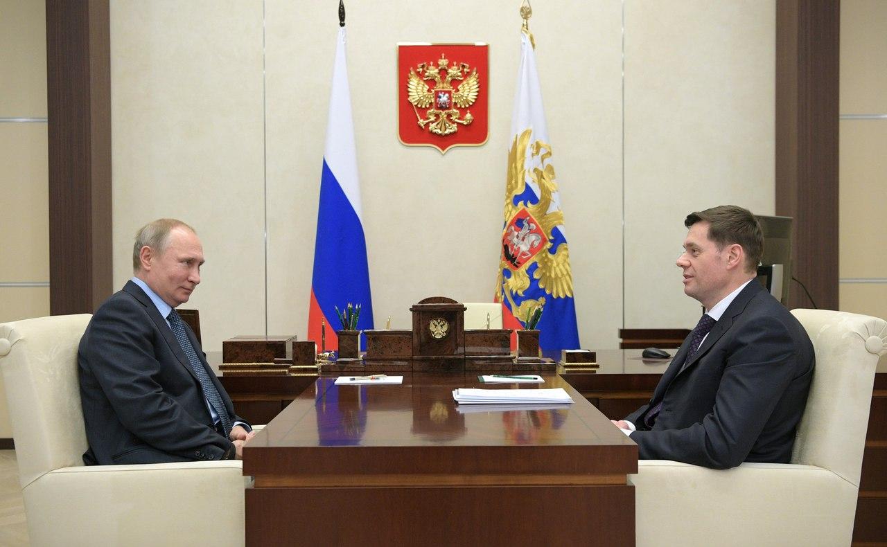 Встреча с главой компании «Северсталь» Алексеем Мордашовым ...