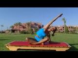 Растяжка. Фитнес упражнения для начинающих, для похудения. 8 видео урок