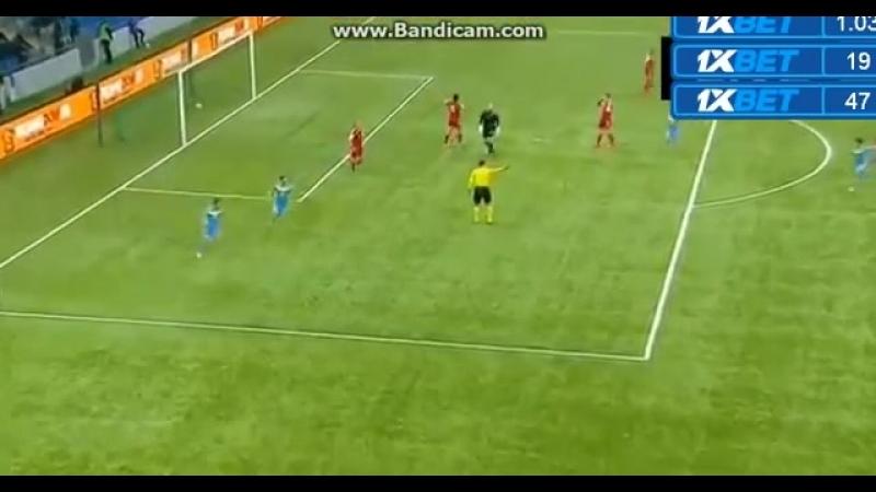 Второй гол Яна Вороговского в матче Казахстан U21 - Люксембург U21