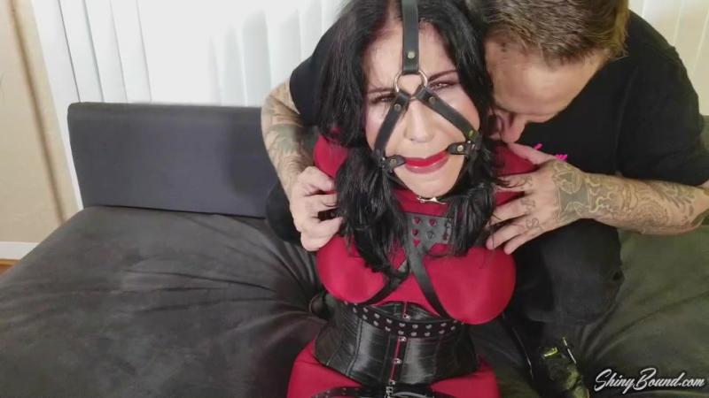 Raven Tied Up Tight In Belt Bondage