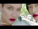 Белла Хадид и Чу Вонг для журнала «Vogue» Китай (2017)