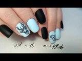 ИНТЕРЕСНАЯ ГЕОМЕТРИЯ!  Дизайн на ногтях / Матовые ногти