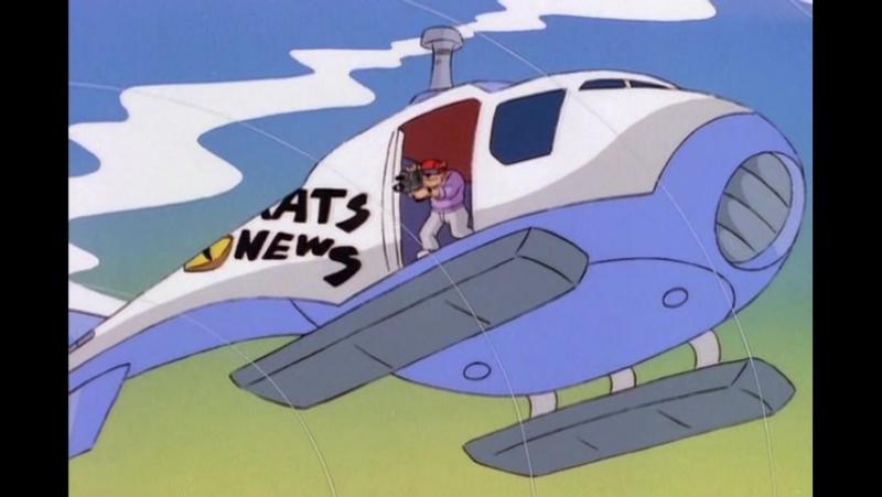 Коты быстрого реагирования. Серия 8: Кристаллический хаос (1993)