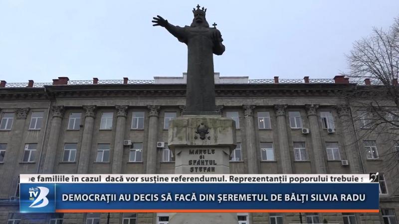 DEMOCRAȚII AU DECIS SĂ FACĂ DIN ȘEREMETUL DE BĂLȚI SILVIA RADU