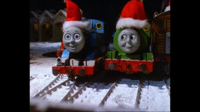 Томас и его друзья - 2 сезон 26 серия «Томас и пропавшая ёлка» (VK)