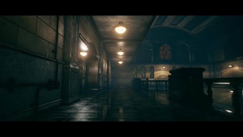 Полицейский участок из Resident Evil 2 на Unreal Engine 4.