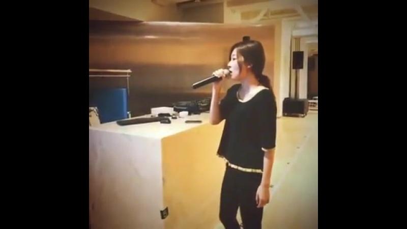 170930 슬기가 부르는 Titanium _ Seulgi singing Titanium