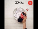 Coca Cola убирает ржавчину и не только
