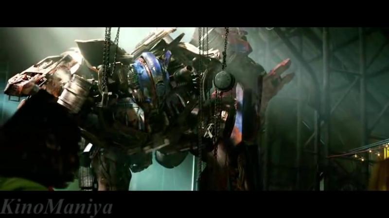 Оптимус Прайм спасает Кейда. Трансформеры 4Optimus Prime save Kate. Transformers 4