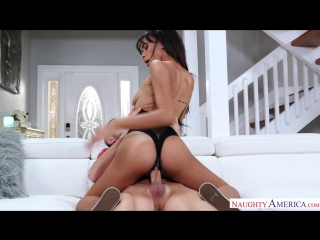 Raven Redmond - My Girlfriends Busty Friend (NaughtyAmerica/15.11.2017) [Big Tits,  BlowJob, Brunette, Natural Tits, New Porn 20