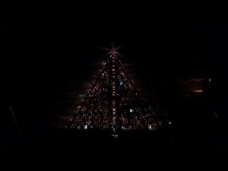 Калининградская ёлка из автомобилей 2018. Аэродром