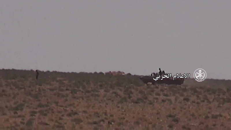 Сирийская армия на пути к Ас-Сухне, восток провинции Хомс