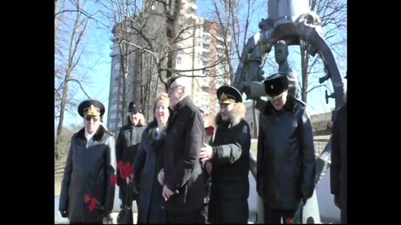 Балтийский флот отмечает 112-ю годовщину подводных сил России. Калининград