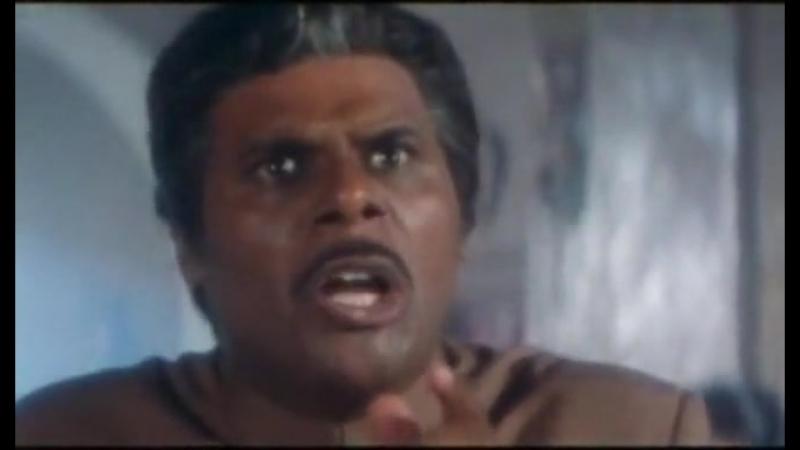 Ангел смерти. Индийский фильм. 1997 год. В ролях: Амитабх Баччан. Каришма Капур. Арбаз Али Кхан и другие.