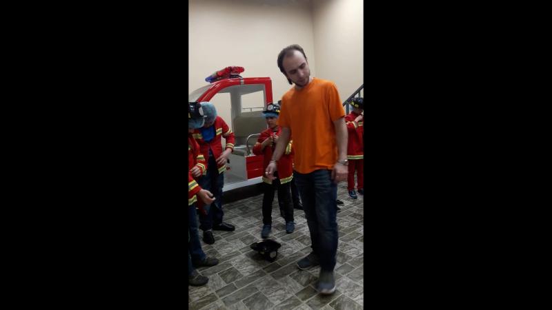 город профессии (пожарник 2 часть)