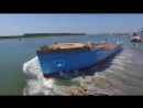 Launching of the Maersk Connector before it w