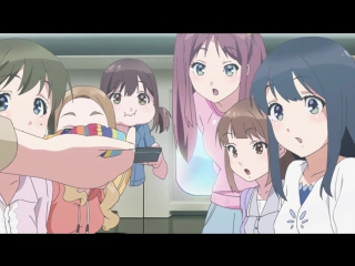 Wake Up, Girls! Shin Shou 1 серия русская озвучка Xelenum / Просыпайтесь, девчонки! 01