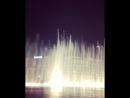 Дубай Поющий фонтан💚💜💙🇦🇪